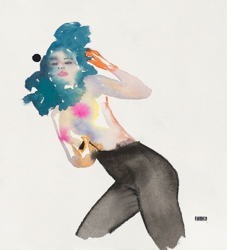 A Watercolor Artist Wants To Paint Female Nudity Without Shame