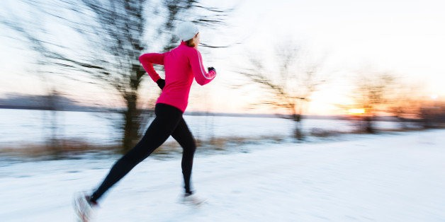 Running In Winter? Snow Problem! 20 Must-Have Items For Cold-Weather Running | HuffPost Life
