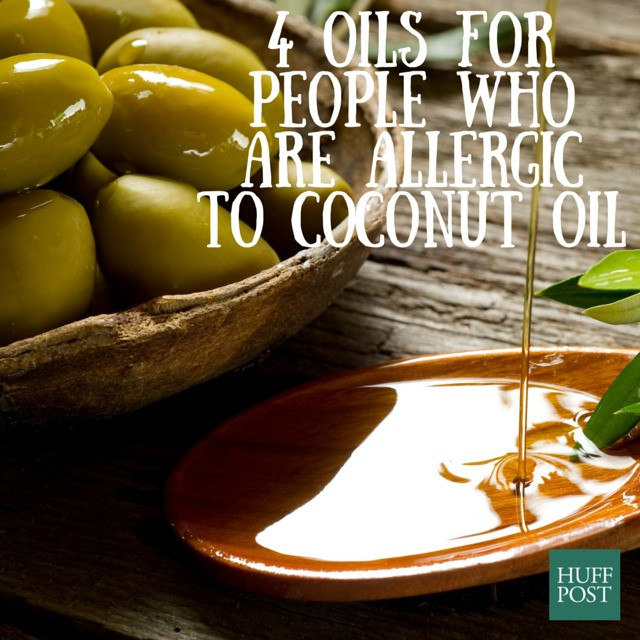 Allergic To Coconut Oil? Here Are 4 Alternative Oils For Healthy Skin And Hair   HuffPost Life