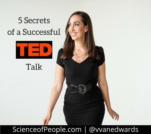 5 Secrets of a Successful TED Talk