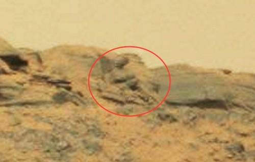 Buddha Statue (Or Rock Formation) Spotted On Mars