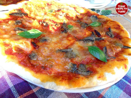 Mediterranean Gluten-Free Pizza is What You Need! Tasty and Healthy Italian Food