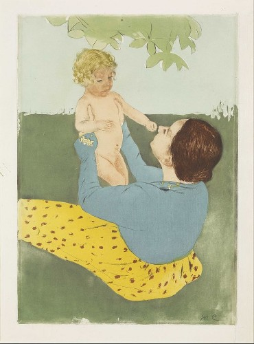 A Glorious Survey Of Moms In Art History