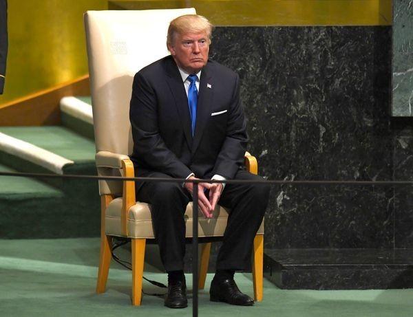 Trump's UN Speech Photos Are Like A Bottomless Pot Of Gold