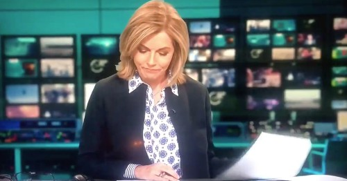 Mary Nightingale Does Her Best Theresa May Impression As She Croaks Her Way Through ITV News, Declares She's 'Off For A Whiskey'