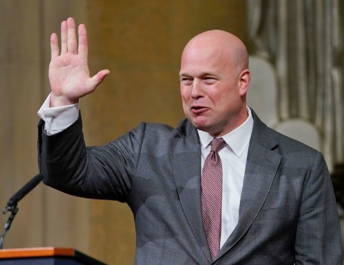 Acting Attorney General Matthew Whitaker Hit With Supreme Court Challenge