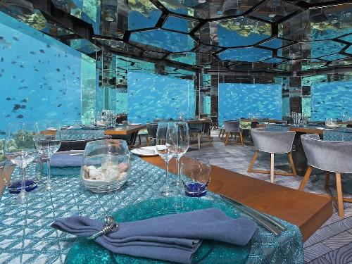 5 Underwater Restaurants And Bars Around The World