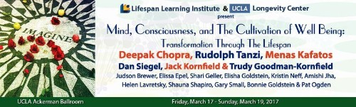 """Looking Forward To the """"Mind, Consciousness, and The Cultivation of Well Being"""" Conference at UCLA!"""