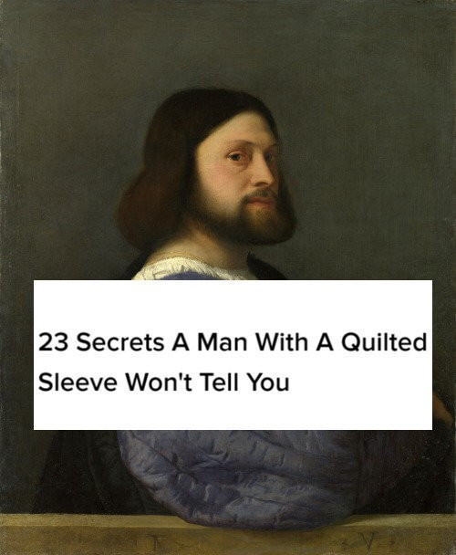 Famous Paintings Paired With BuzzFeed Headlines Are Winning Art History