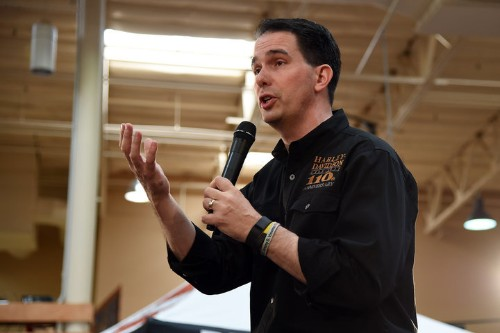 Scott Walker Sues Feds Over Food Stamp Drug Testing