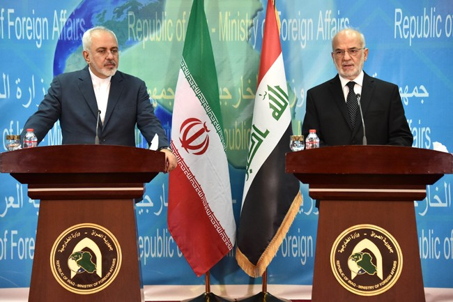 Zarif's Comments on Iran's Deal at the Iraqi MoFA Press Conference