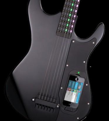 "Dropbox創業者からも資金調達した、iPhone連携ギター""Incident Tech's gTar ""!"