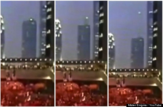 UFO Appears Above Hong Kong Pro-Democracy Protesters