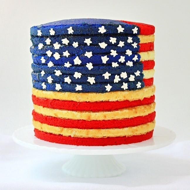 The Flag Cake Recipe To End All Flag Cakes