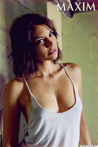 Lauren Cohan's Maxim Shoot Is Gorgeous