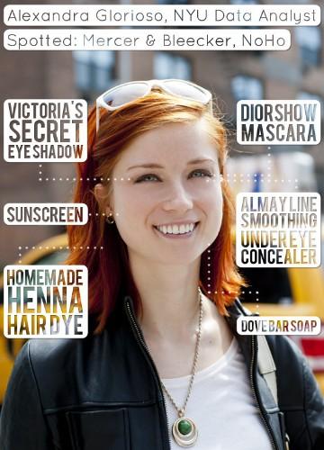 Alexandra Glorioso, NYU Data Analyst, Whips Up Homemade Hair Dye That Really Works