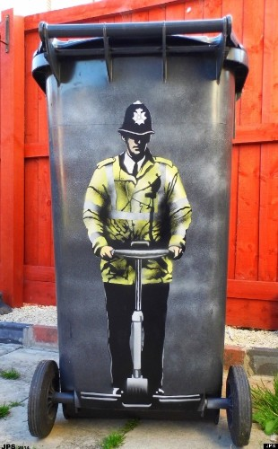 Banksy Exhibit Inspires Ex-Drug Addict To Change His Own Life Through Art