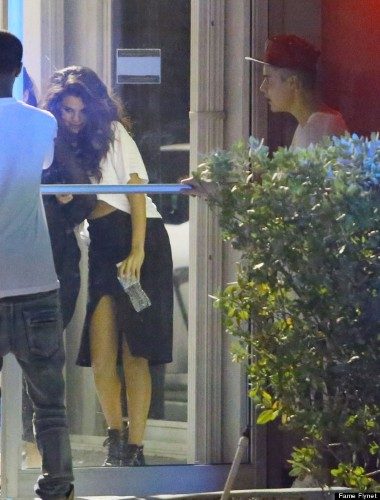 Selena Gomez And Justin Bieber Reunite In Miami