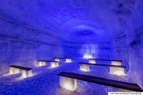 Journey Into A Glacier With Iceland's Coolest Summer Exhibit