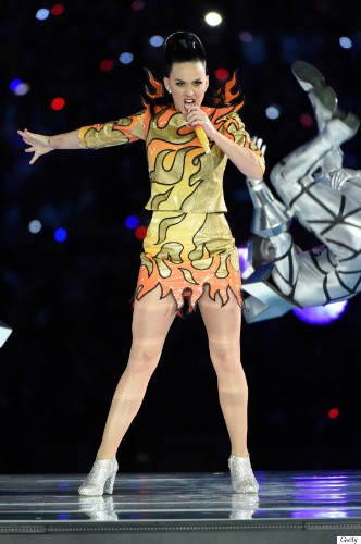 Katy Perry Wore Not One But Four Awesome Super Bowl Halftime Show Outfits