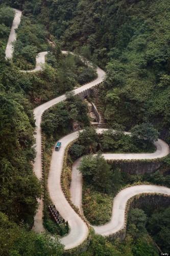 Zhangjiajie National Park In China Has Awesome Twisty Roads
