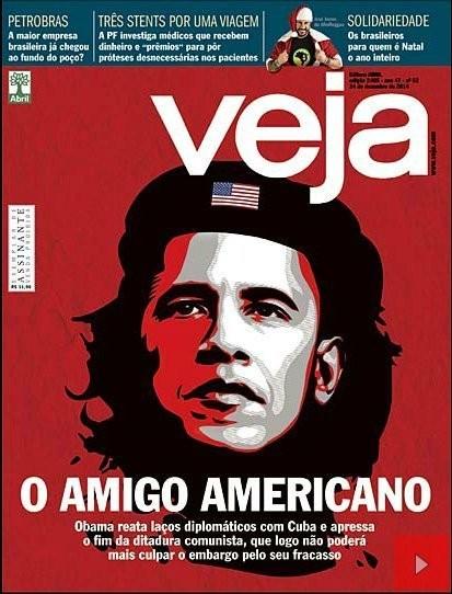 Veja Magazine Caricatures Obama As Communist Revolutionary 'Che' Guevara