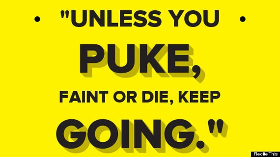 5 Fitness Quotes That Are The Absolute Worst