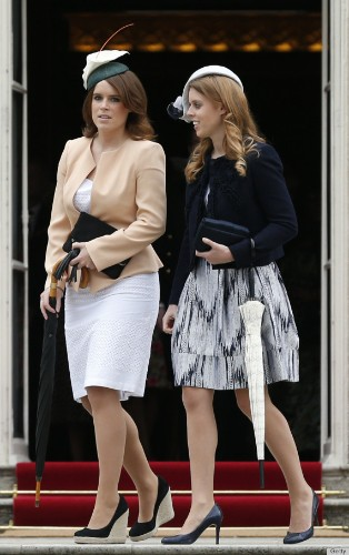 Princesses Beatrice, Eugenie Attend First Buckingham Palace Garden Party (PHOTOS)