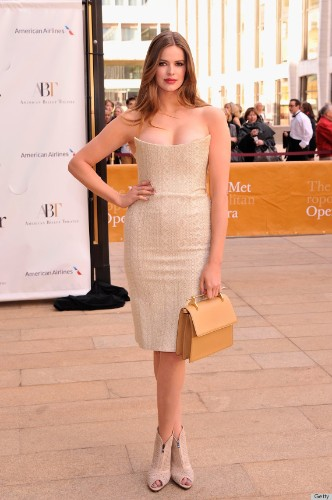 Robyn Lawley's Nude Dress At The American Ballet Spring Gala Is Stunning (PHOTOS)