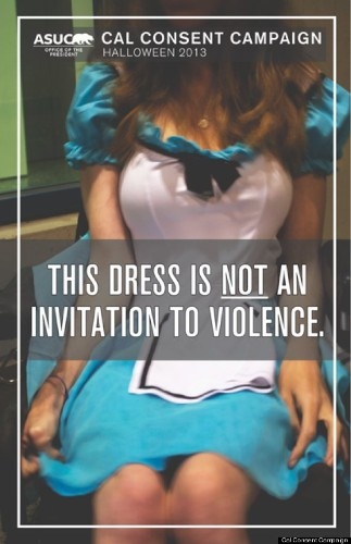 Cal Consent Campaign Posters Remind You Halloween Costumes Aren't An Excuse To Be Rapey