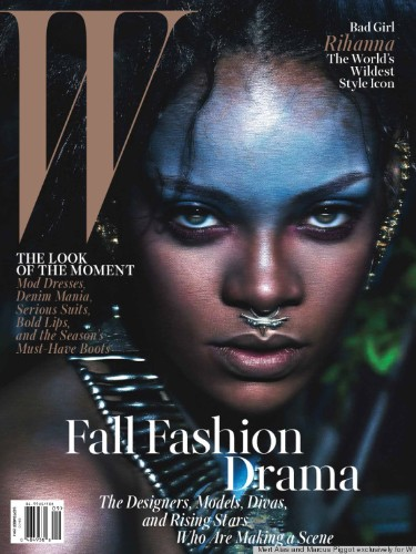 Rihanna Taps Into Her Wild Side For W Magazine's September Issue
