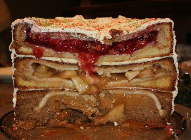 The Cherpumple: Three Pies, Three Cakes, One Dessert