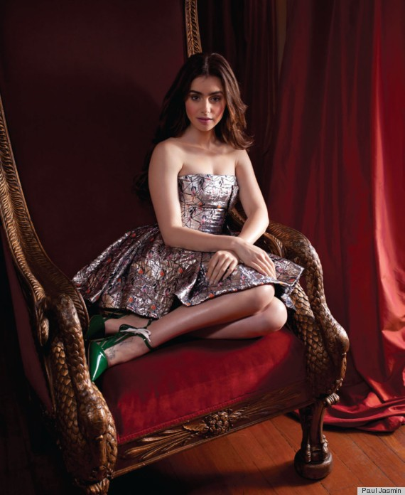 Lily Collins Gets The Fairytale Treatment In CR Fashion Book