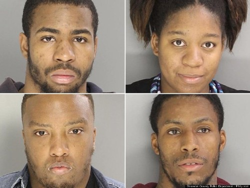 5 Adults Allegedly Shoot 5 Kids With BB Guns And Force Them To Watch Sex Acts