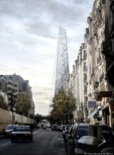 Paris' New Tower Is A Massive Glass Pyramid From The Future