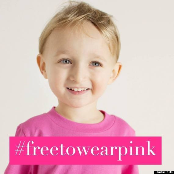 Awesome Campaign Reminds Boys That They're Free To Wear Pink