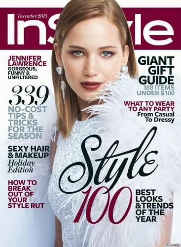 Jennifer Lawrence's Hair On Her InStyle Cover Makes Us Miss Her Old 'Do