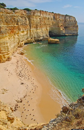 Marinha Beach Is Clearly One Of The Best Beaches In The World For A Reason