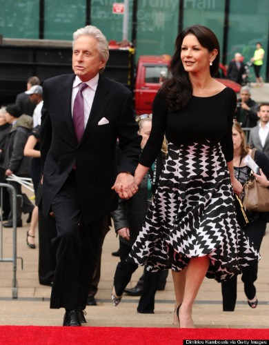 Michael Douglas And Catherine Zeta-Jones Hold Hands, 8 Months After Announcing Split