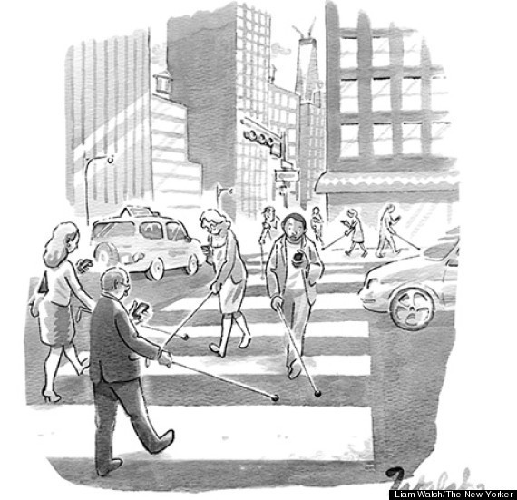 These New Yorker Cartoons Perfectly Sum Up What's Wrong With Our Tech-Addicted Culture