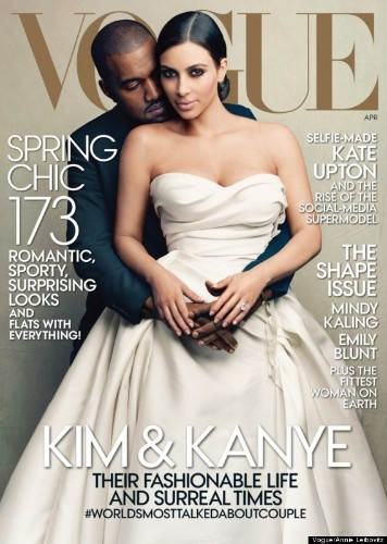 Kim Kardashian And Kanye West Vogue Issue May Outsell Issues With Beyonce, Michelle Obama