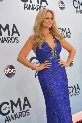 Miranda Lambert Wows In Plunging Dress At CMA Awards And Blake Shelton Loves It