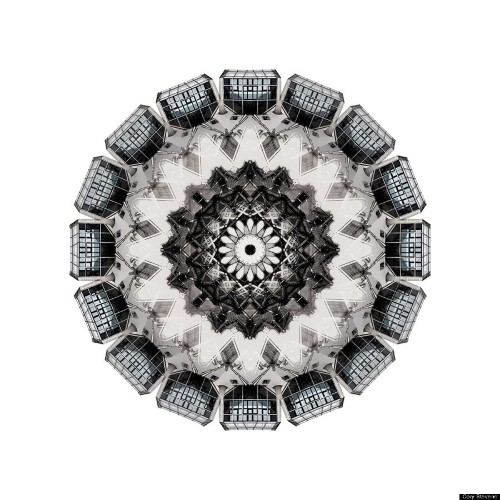 Trippy Fractals Capture The Kaleidoscopic Beauty Of Architecture