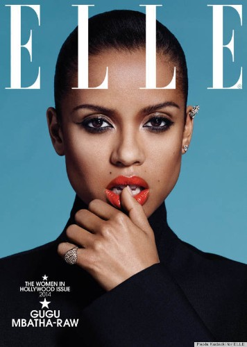 Here's How To Look Like Gugu Mbatha-Raw's 'Elle' Cover