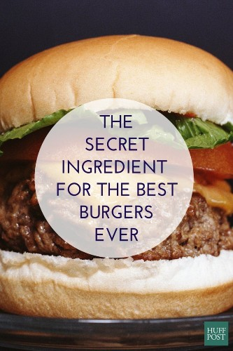 The Secret Ingredient Everyone Needs For The Most Amazing Burgers