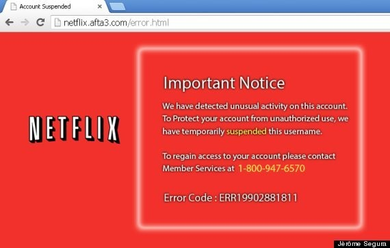 Phishing Scam Targeting Netflix May Trick You With Phony Customer Service Reps