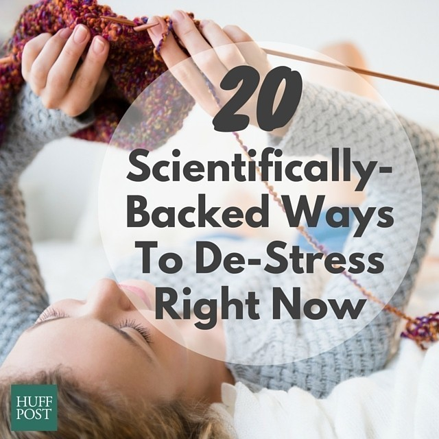 20 Scientifically Backed Ways To De-Stress Right Now