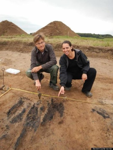 1,000-Year-Old Viking Fortress Unearthed In Denmark