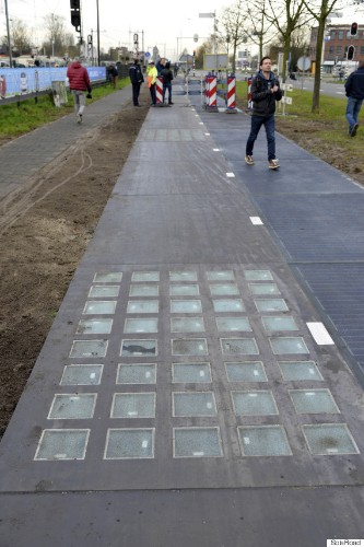 World's First 'Solar Road' Is Generating Even More Power Than Expected