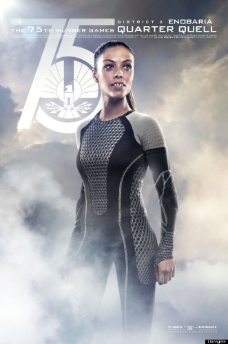 'Catching Fire' Quarter Quell Posters Feature Enobaria & Brutus, Past Hunger Games Victors (PHOTO)